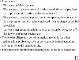 numerical methods with excel vba pdf