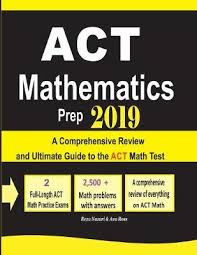 ACT Mathematics Prep 2019 by Reza Nazari, Ava Ross | Waterstones
