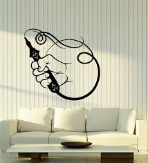 Vinyl Wall Decal Smoking Pipe Hookah Decor Smoke Stickers 2756ig Wallstickers4you