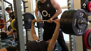 irish rugby tv in the gym with quinny