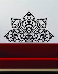 Half Mandala Wall Decal Sticker Home Decor Vinyl Art Bedroom Teen Insp Boop Decals
