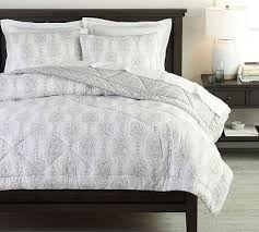 dessi printed percale comforter shams