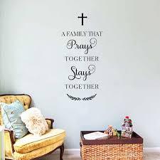 Prayer Wall Decal Sticker Family Decor Decals Market