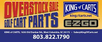 King Of Carts Overstock Sale Ezgo Specials