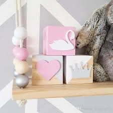 Wooden Square Swan Decor Kids Room Figurines Miniatures Natural Wedding Decorations Children Toys Christmas Gifts Home Decor Things Home Decor Tips From Lihualin033 9 05 Dhgate Com