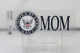 Navy Mom W Emblem 3x6 25 Decal Stars Stripes The Flag Store