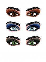 eye makeup smokey makeup of eyes