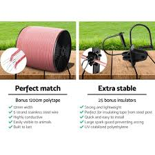 3km Solar Electric Fence Energiser Energizer 0 1j 1200m Electrical Fencing Wire Tape Farm Airgift Shop Wide Range Of Gifts