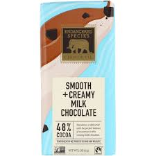 smooth creamy milk chocolate