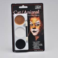 tri color makeup palette cat