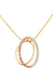 tanishq 14 kt gold diamond pendant