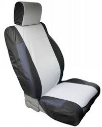 custom fit polycanvas front seat