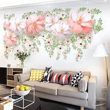 Large Flower Wall Decals Flower Wall Decals Floral Wall Decals Flower Wall