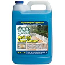 Amazon Com Deck And Fence Cleaner 1 Gal Health Personal Care
