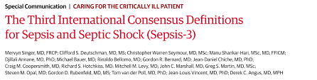 sepsis 3 0 and the quick sofa