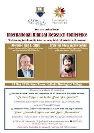 PDF) CTC International Biblical Research Conference | Kris Sonek, John J  Collins, and Adela Collins - Academia.edu