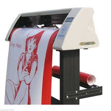 48 Vinyl Sign Sticker Cutter Plotter With Contour Cut Function With Software For Sale Online