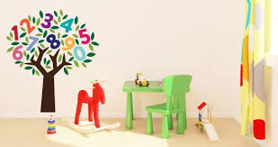 Number Tree Wall Decals Dezign With A Z