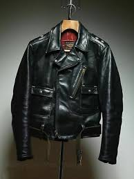cycle ch leather horsehide jacket