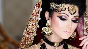 bridal day with super bridal makeup