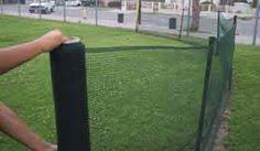 Rolled Fencing And Posts Dog Fence Front Yard Fence Rv Dog Fence