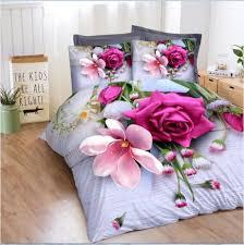 red rose 3d bedding