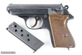 Walther PPK Plum Finish Trigger WW2