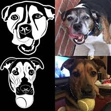 Custom Car Decal Sticker Of Your Pet My Pet Prints