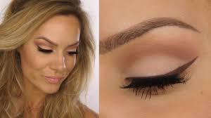 matte natural eye makeup tutorial