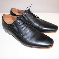 aldo shoes mens black oxford dress