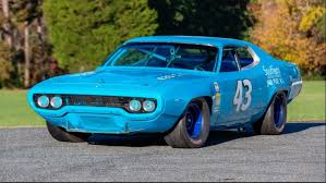 Richard Petty S 1971 Plymouth Road Runner Replica On Sale