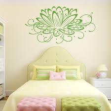 Lotus Flower Wall Decal Vinyl Decor Wall Decal Customvinyldecor Com