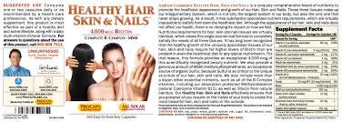 healthy hair skin nails capsules