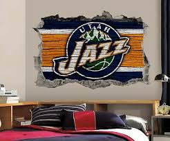 Seattle Seahawks Wall Art Decal 3d Smashed Kids Bedroom Wall Decor Wl149
