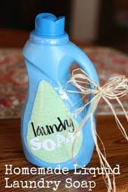 homemade liquid laundry detergent free