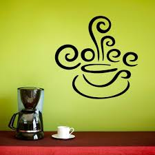 Here Are 30 Brilliant Coffee Station Ideas For Creating A Little Coffee Corner That Will Help You Decorat Coffee Decor Kitchen Kitchen Wall Decals Coffee Decal