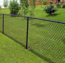 Pvc Chain Link The Fence N Post