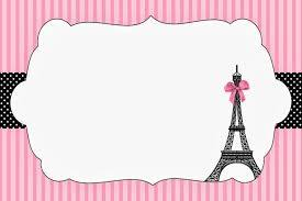 Paris Imprimibles E Invitaciones Para Imprimir Gratis