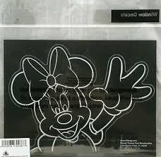 Disney Parks Minnie Mouse Wave Window Decal New Ebay