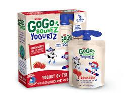 gogo squeez strawberry yogurtz real