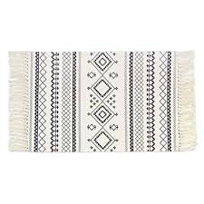 com moroccan cotton area rug