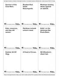 9 geekiest cards against humanity decks