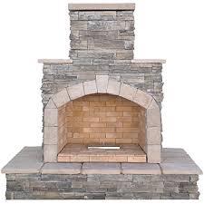 cal flame outdoor fireplace