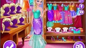 frozen game elsa queen makeup