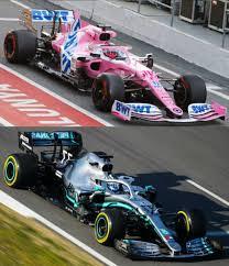 Racing point 2020 vs Mercedes 2019 : formula1
