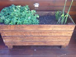 Herb Garden Made From Old Fence Palings Garden Fence Panels Old Fences Upcycled Fence