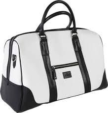 jucad sydney travel bag black white