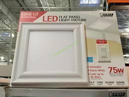 feit electric 15 x 15 led flushmount