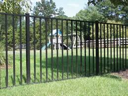 Ez Fence Asbury 36 X 70 Aluminum Fence Panel At Menards Aluminum Fence Backyard Fences Brick Fence