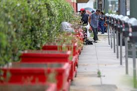 Desperate To Get Rid Of Homeless People Some Are Using Prickly Plants Fences Barriers Los Angeles Times